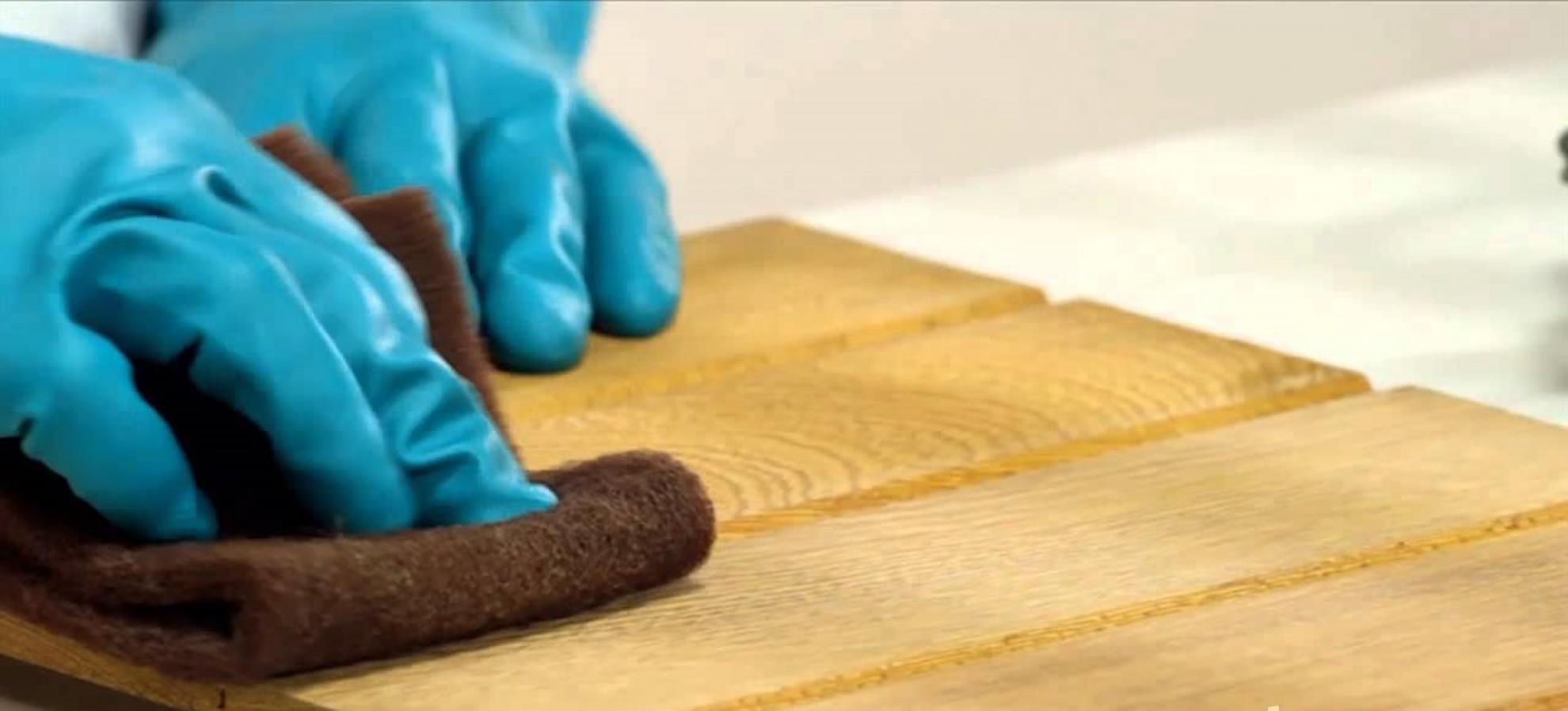 Como limpar e conservar a madeira